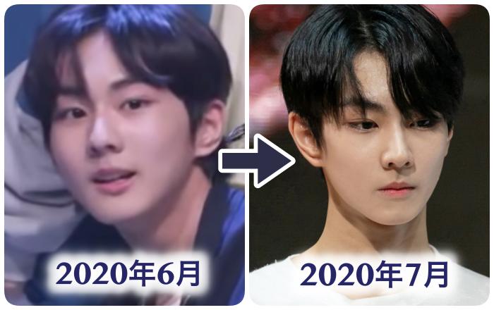 ジョンウォン痩せた