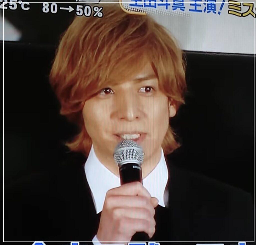 2016年舞台挨拶の生田斗真