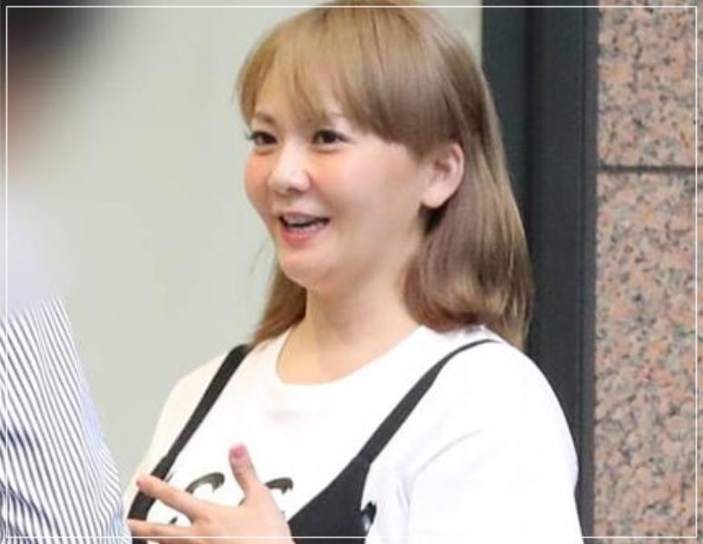 2018年8月の華原朋美