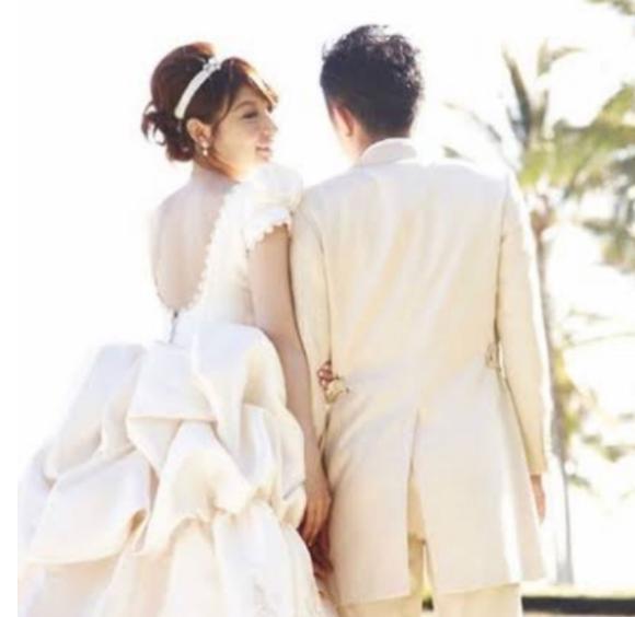 熊田曜子の結婚式