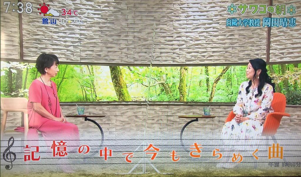 サワコの朝に出演する岡田晴恵