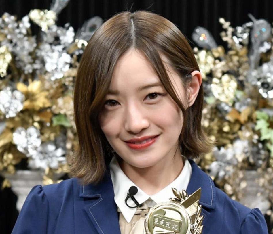 2019年の中田花奈