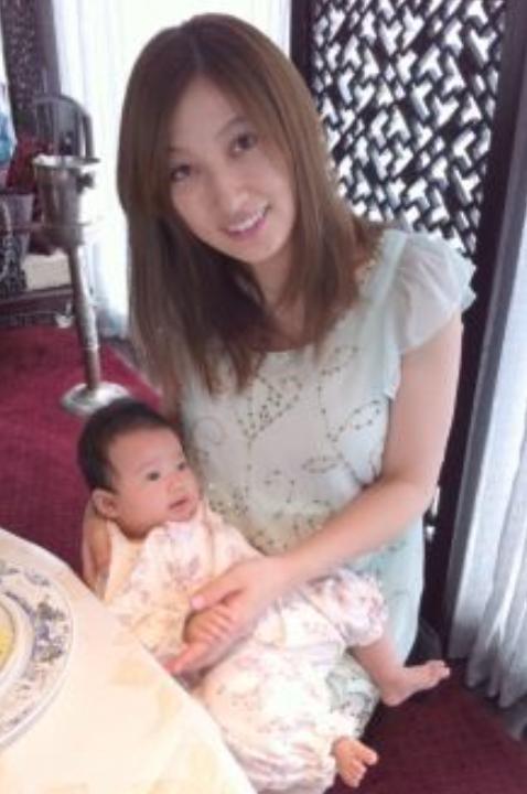熊田曜子と赤ちゃん