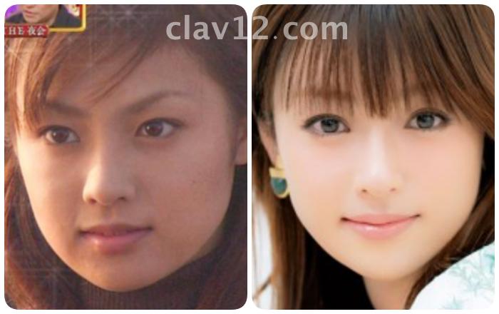 深田恭子の目の比較