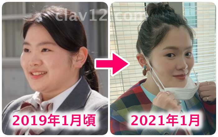 富田望生比較
