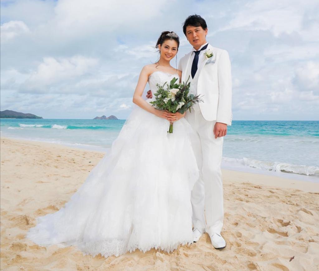 押切もえの結婚写真