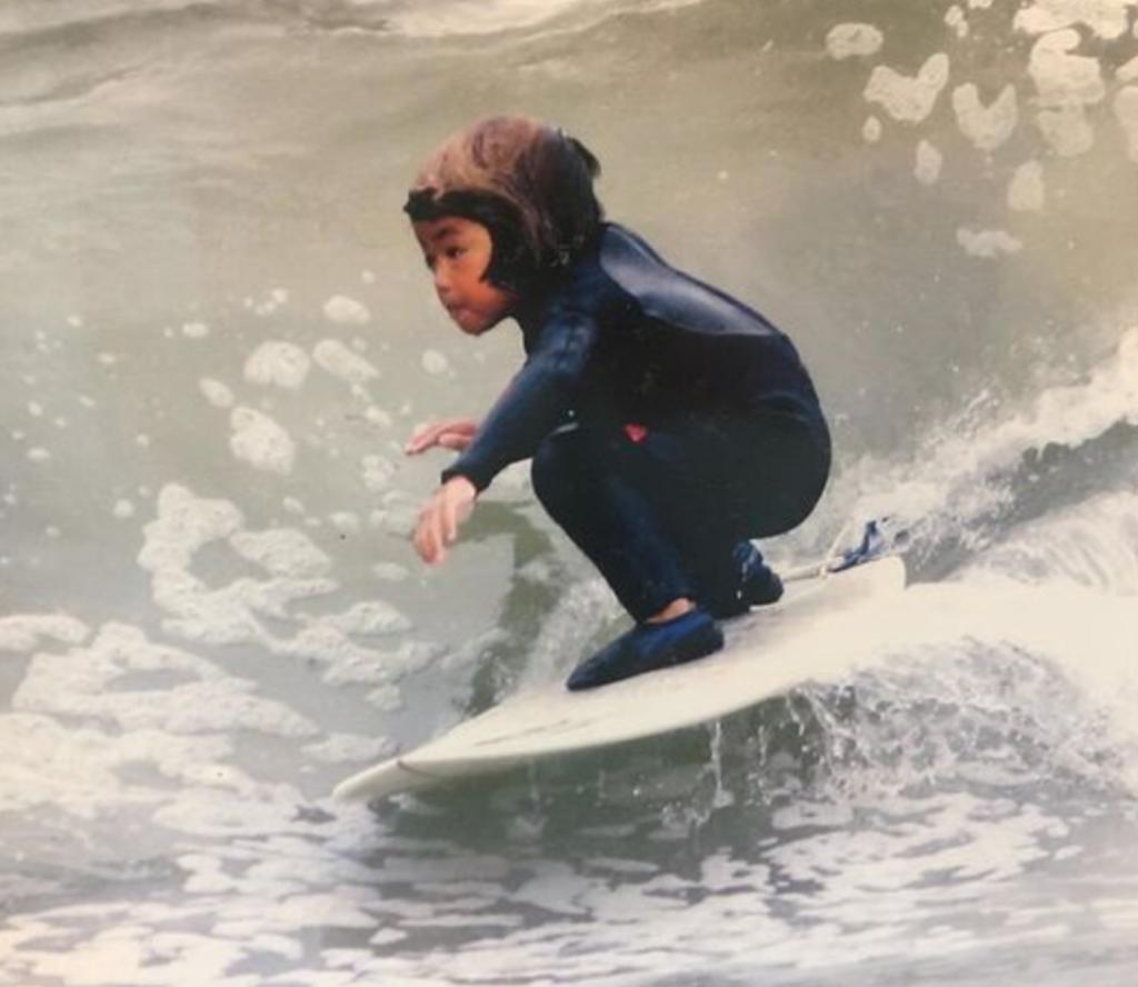 3歳の五十嵐カノア