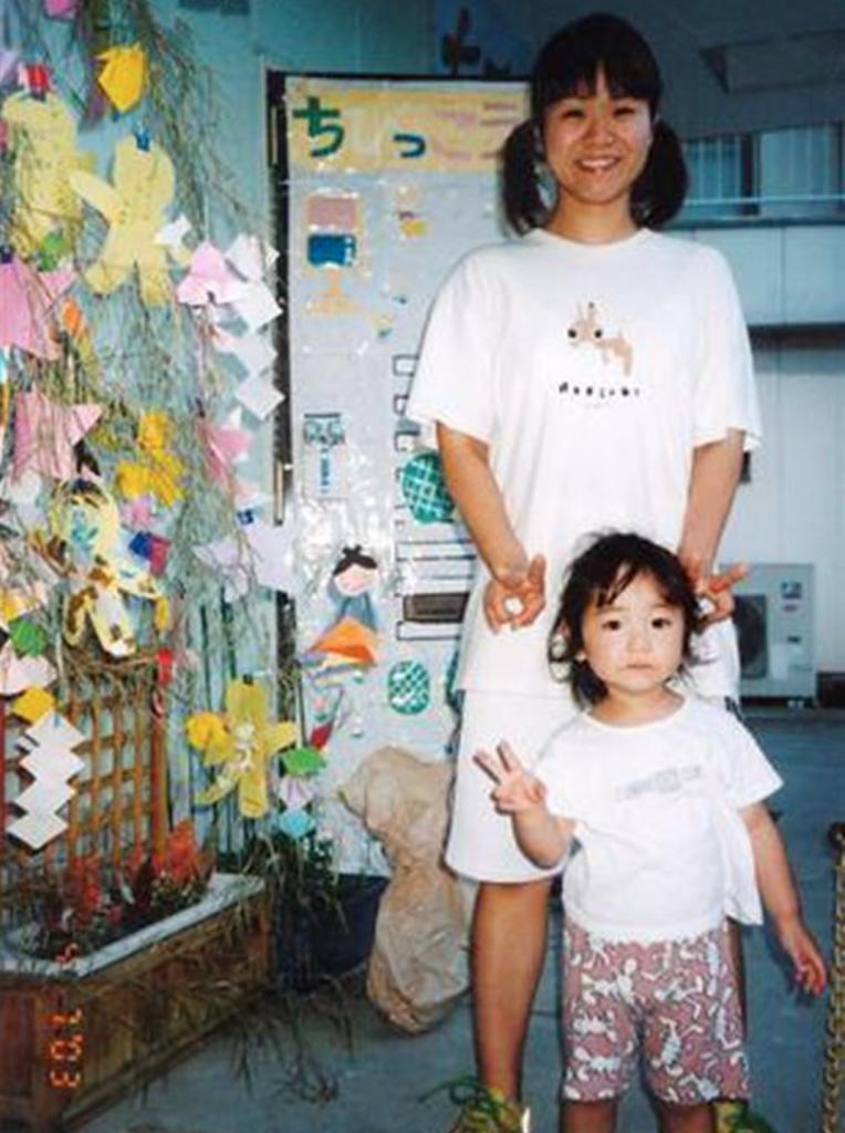 伊藤美誠の幼少期