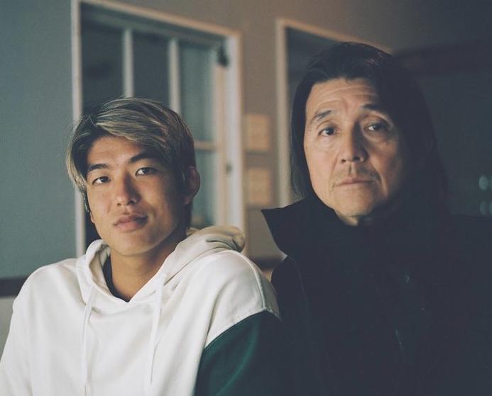 五十嵐カノアさんとお父さん
