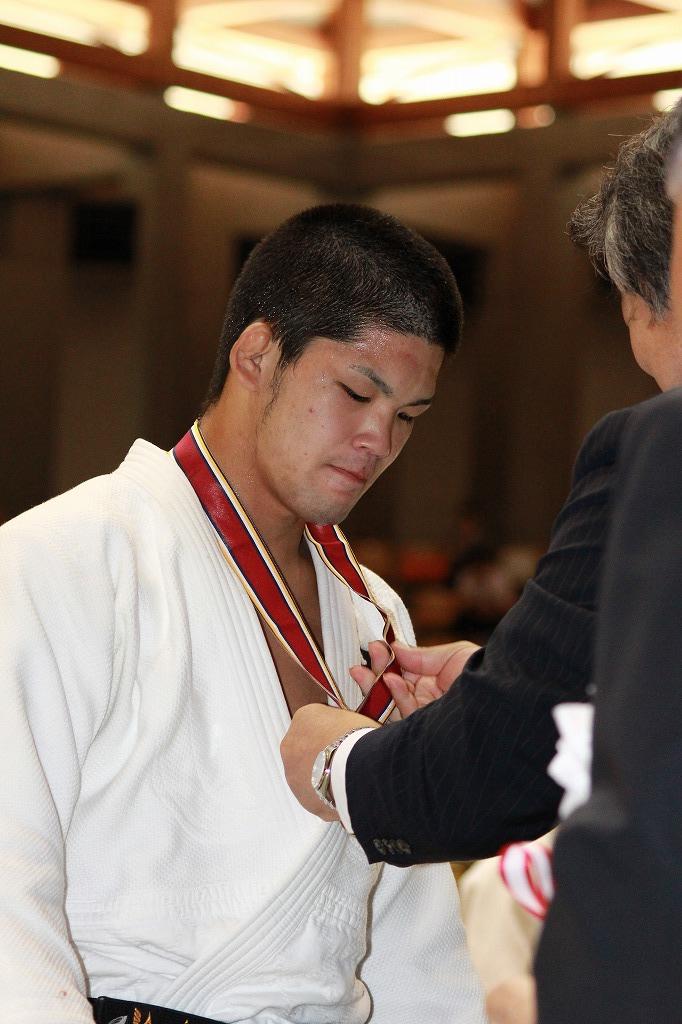 シニアで優勝する大野将平さん