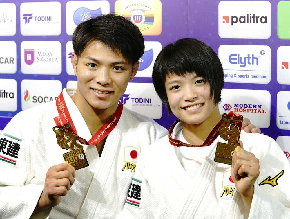 妹・詩さんと同時に世界チャンピオン