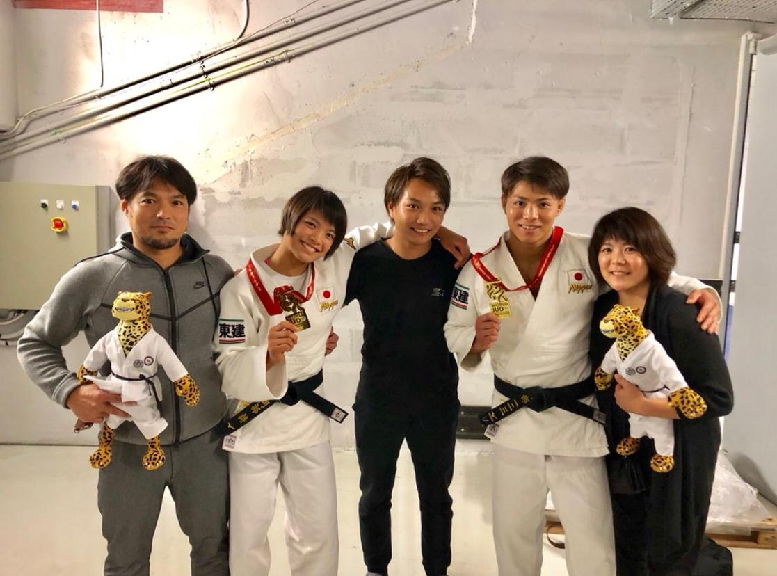 阿部詩さんと家族