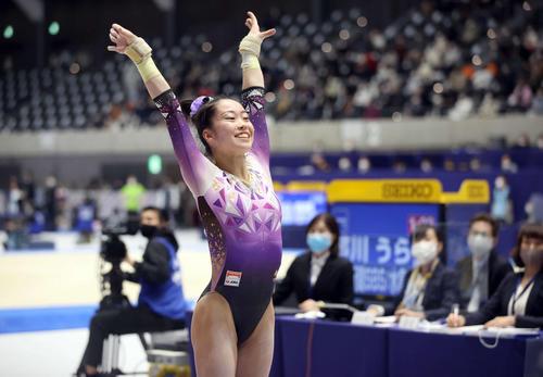オリンピック代表入りを決めた畠田瞳さん