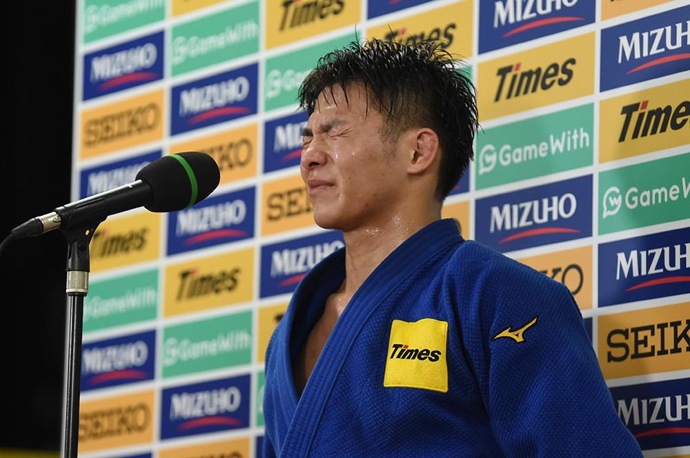 東京五輪代表入りを果たした阿部一二三さん