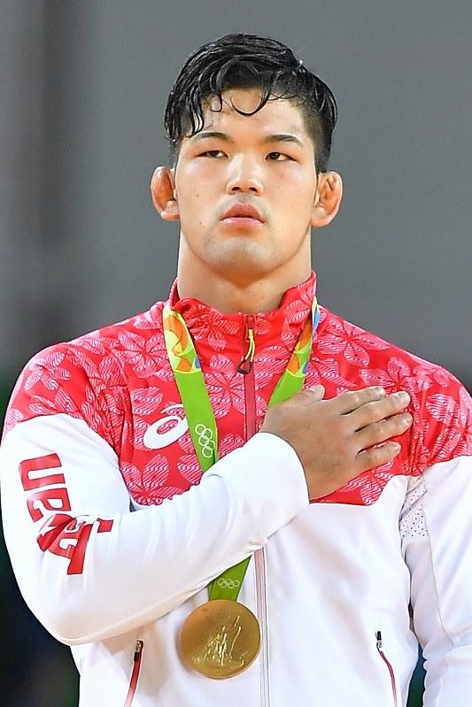 金メダルを獲得した大野将平さん