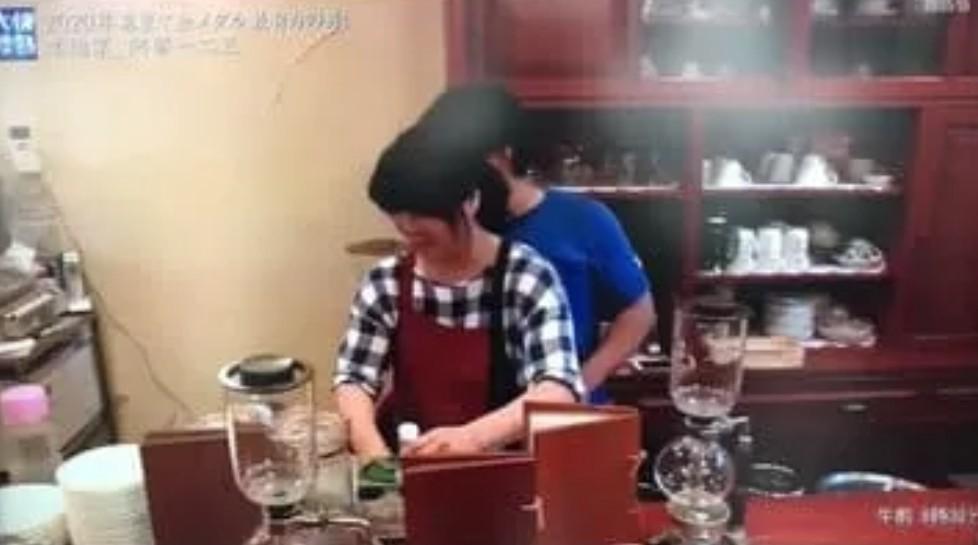 お母さんが経営する喫茶店