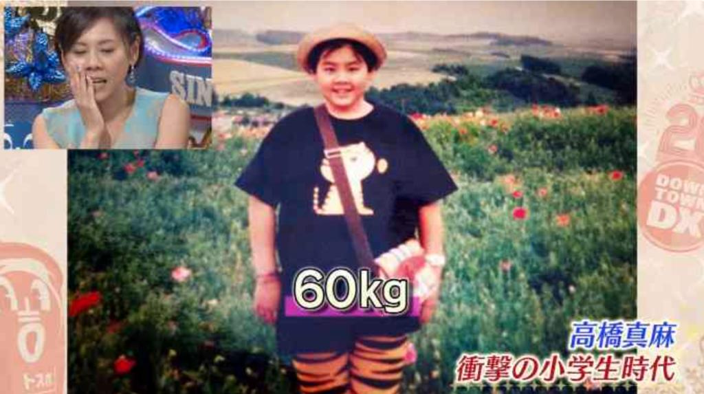 体重60キロの高橋真麻