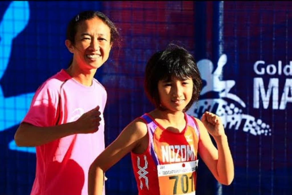 田中希実と母親