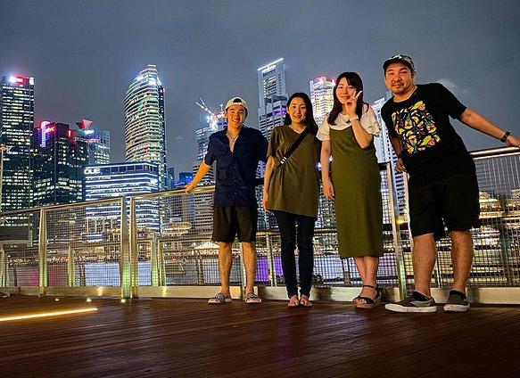 中村輪夢さんと家族