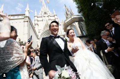 瀬戸大也 馬淵優佳 結婚式