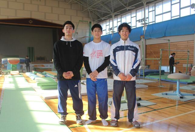 橋本大輝さんと兄2人
