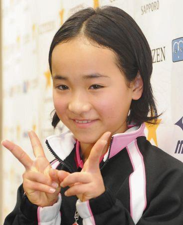 2011年の伊藤美誠さん