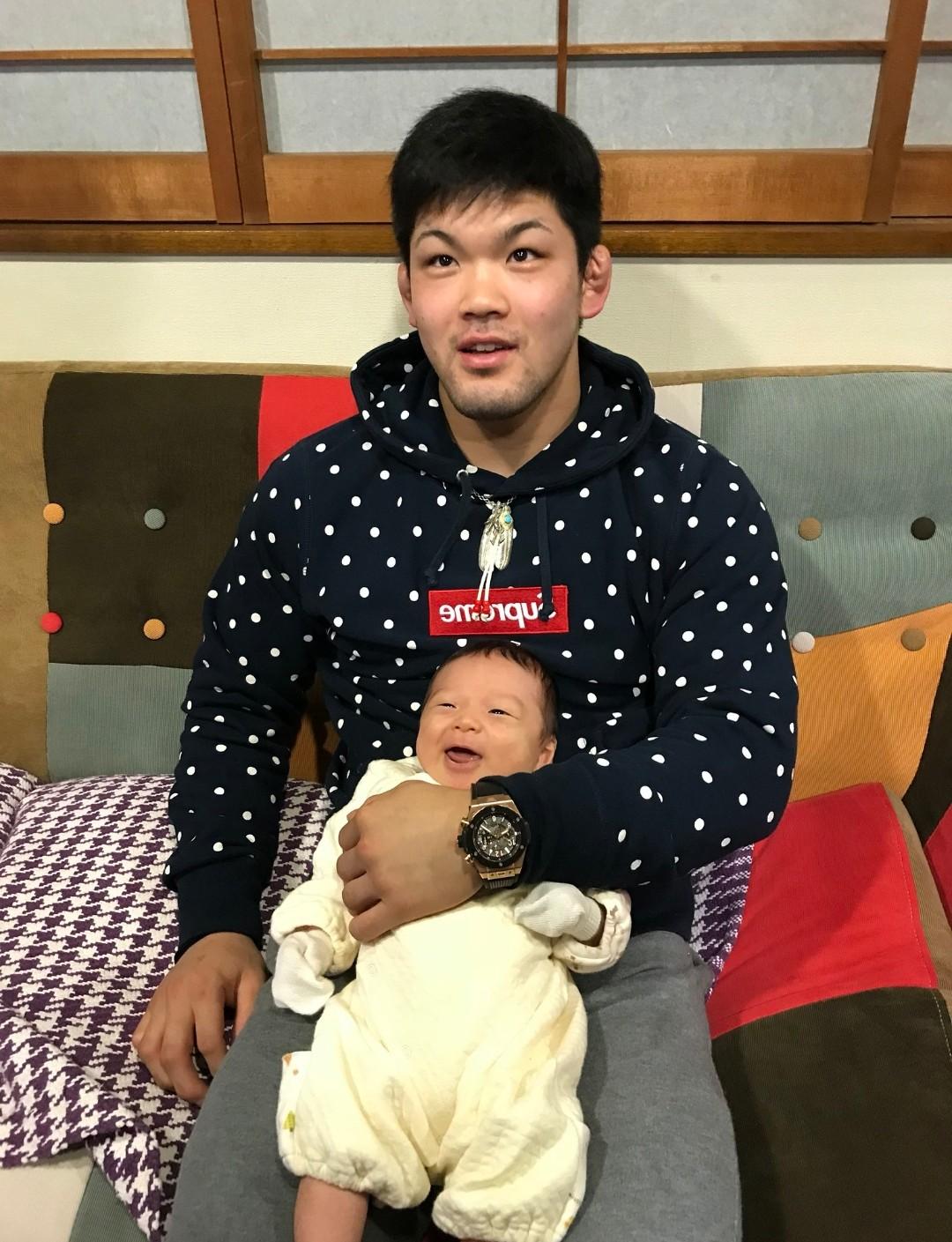 大野将平さんと甥っ子