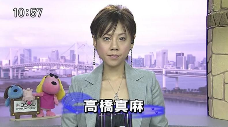 高橋真麻さんのフジテレビ入社時