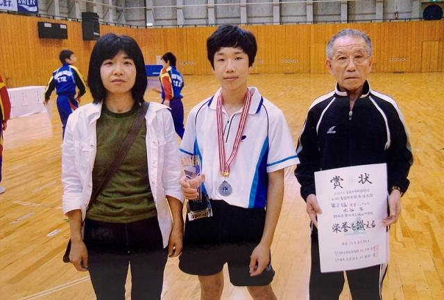 水谷隼さんと母・祖父