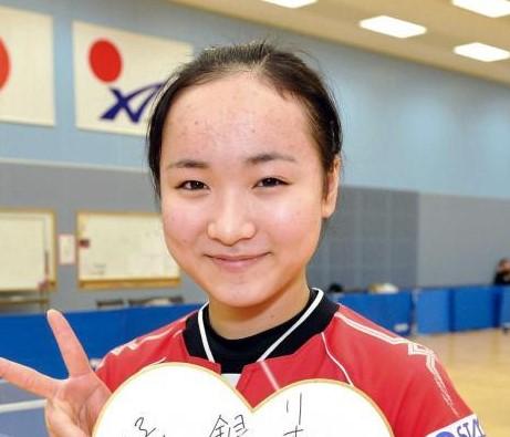 2016年1月の伊藤美誠さん