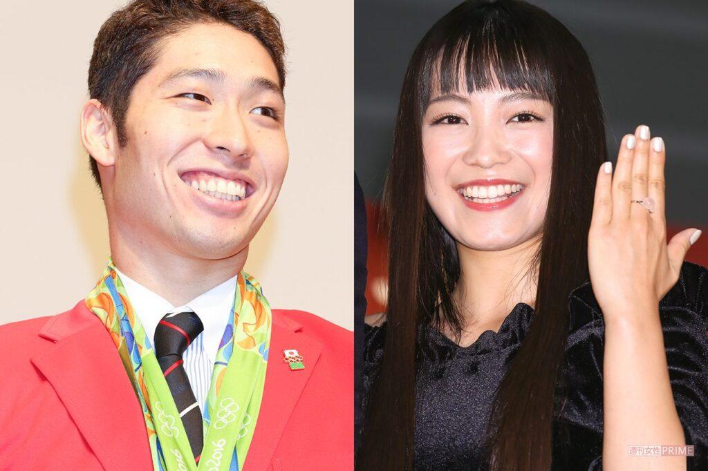 萩野公介さんとmiwaさん