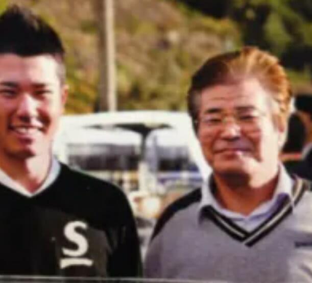 松山英樹さんと父・幹男さん