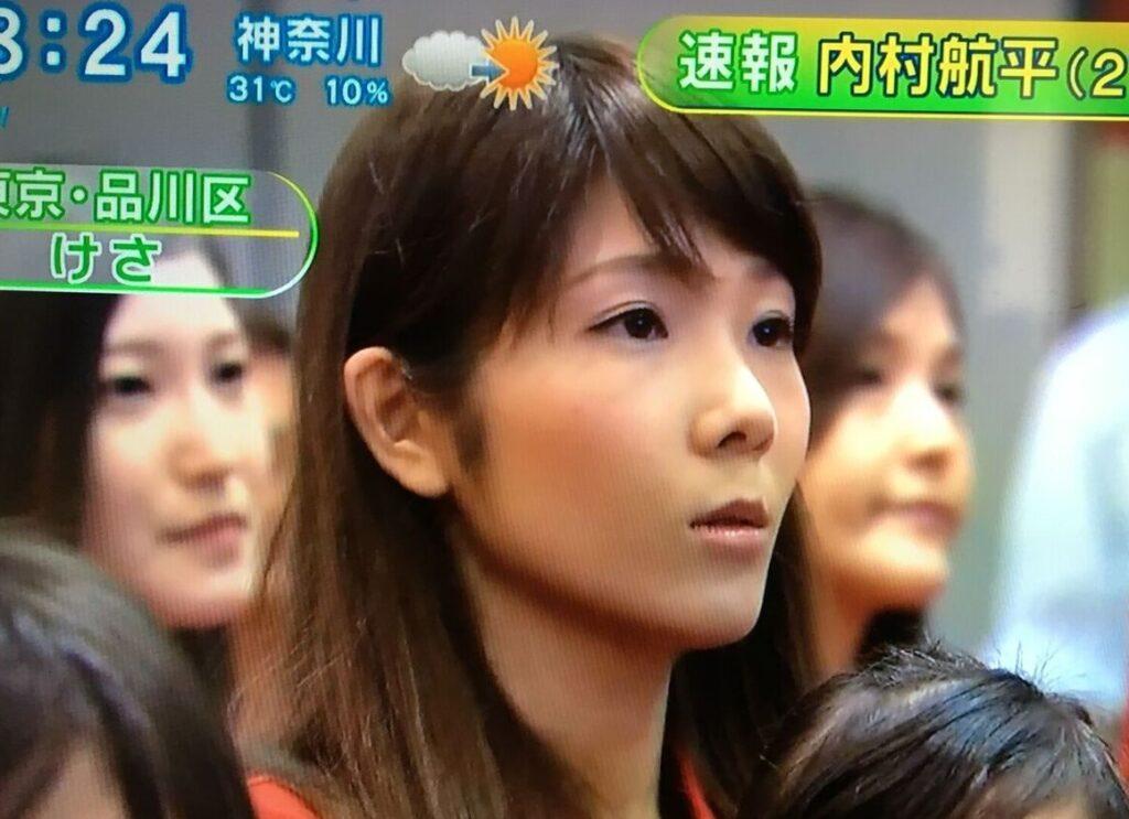 内村航平さんの嫁・千穂さん