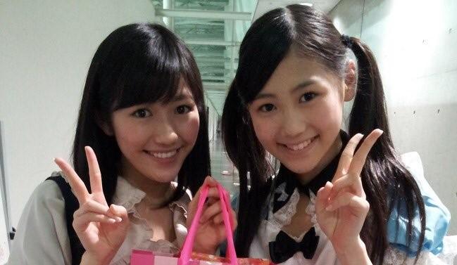 渡辺麻友さんと西野未姫さん