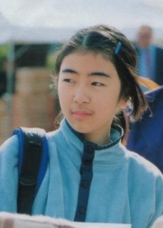 中学生時代の宇多田ヒカルさん