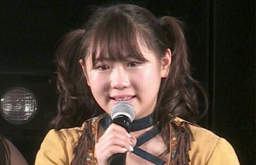 卒業公演時の西野未姫さん